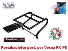 9192  Portabauletto/Bagagli Posteriore NERO per Piaggio Vespa PX 125 E Arcobalen