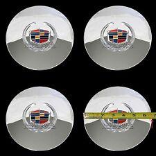 4 Eldorado Deville DTS Chrome Wheel Center Hub Caps 5 Lug Bolt Rim Cover Hubs RC