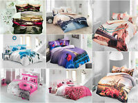 3D 100% Cotton Duvet Cover Bedding Set Double Same as the photos