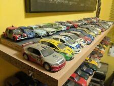 Coches a escala 1/43 Colección 46 coches de rallye Lote