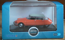 Oxford Diecast 76CDS002 Citroen DS in Coral - 1:76th Scale - NEW