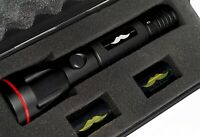 Handsome Man Torch Flashlight with Mustache Design Battery - Super Bright LED
