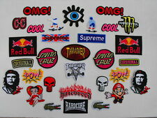 Skateboard/Extreme Sports/Iconic Brand - EMROIDERED PATCH/BADGES - BIG CHOICE!