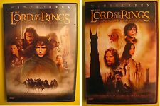 The Lord of the Rings Fellowship of the Ring AND The Two Towers BOTH 2 DVD SETS