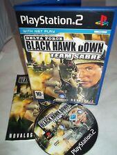 Sony PS2 Playstation 2 console di gioco-DELTA FORCE BLACK HAWK DOWN sciabola a squadre