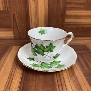 Vintage Royal Kent Bone China Tea Cup/Saucer Set ~ Made In Staffordshire England