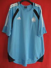 Maillot Olympique Marseille Entrainement Ciel Climacool OM Adidas vintage - 8