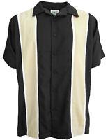Mens Sz 3XLT Bowling Shirts Charlie Sheen Retro Vintage Rockabilly Harley
