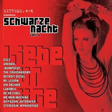 SCHWARZE NACHT 6 LIMITED CD Grendel WUMPSCUT The Crüxshadows ES23