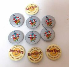 MISCELLANEOUS LOT OF HARD ROCK CAFE COLLECTIBLE PINS