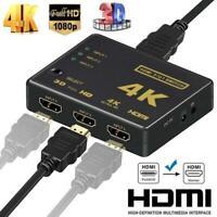 Répartiteur Multiprise HDMI Splitter commutateur avec 3 or 5 entrees 1 sortie