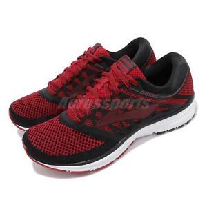 Brooks Revel Black Red Mens Running Shoes Road Runner Select 110260-1D