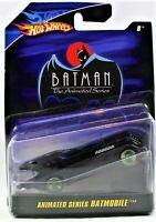 BATMAN Hot Wheels 1:50 Animated Series Batmobile 2007 New On Card Free Shipping