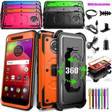 For Motorola Moto E4 E4 Plus Phone Case, Shockproof Cover /Belt Clip Accessories