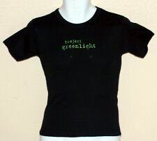 PROJECT GREENLIGHT Contest TV Show HBO CHANNEL Womens Cap Sleeve T SHIRT S/M New
