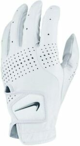 NEW! Nike Tour Classic III Left Men's Golf Glove White Regular Size Cadet M/L