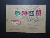 Germany 1948 Registered Cover to Baden-Baden (VI) - Z11736