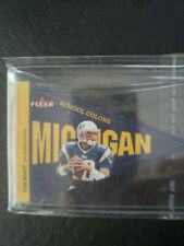 New listing #647 Tom Brady - 2002 Fleer Tradition School Colors #14 NE Patriots SP Michigan