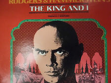 the King and I Yul Brynner Constance Towers Rodgers/Hammerstein 33RPM 020416 TLJ