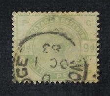 CKStamps: Great Britain Stamps Collection Scott#106 Used Signed