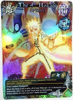 Carte Naruto Uzumaki Collectible Card Game CCG Foil Fancard #214 Limited Set 31