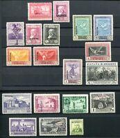 SPANIEN 1930 515 etc MUSTERMARKEN oft POSTFRISCH  Büge(E0980