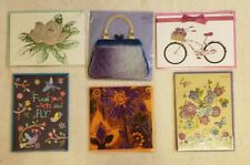 PAPYRUS Greeting Cards BLANK Lot of 6 - Assorted Blank Feminine Unique Sweet