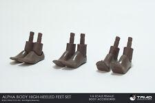 Triad Toys African American Female Heeled Feet Set