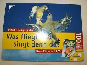 """Kosmos Naturführer """"Was fliegt und singt denn da?""""+ 2 CD´s 30. Jubiläumsausgabe"""
