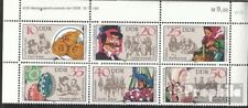 DDR WZd534DV met Publicatie info postfris 1982 Sorbisch Douane