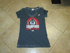 BOSTON RED SOX WOMENS 2018 WORLD SERIES CHAMPS T SHIRT (MED) NWT $30 DISTRESSED