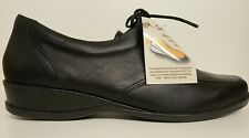 BEAUTIFUL  BLACK SANDPIPER  LEATHER SHOES NEW SIZE 40 6.5