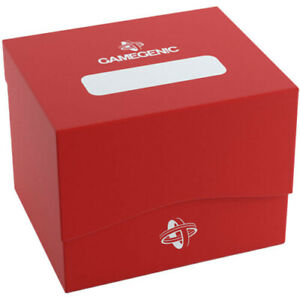 Side Holder 100+ Card Deck Box: XL Red GameGenic Asmodee NEW