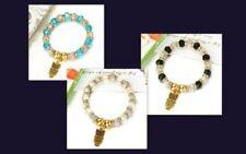 Modeschmuck-Armbänder im Gummiarmband-Stil mit Strass-Perlen