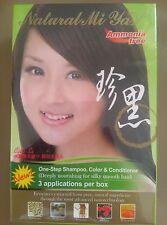 Natural Miya (Nuo Miya) Herbal Colorant 3-in-1 Hair Coloring Shampoo, 4 Colors