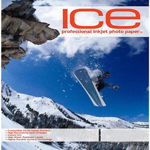 ICE Photo Paper Full Range from Glossy, Satin, Double Sided, Magentic