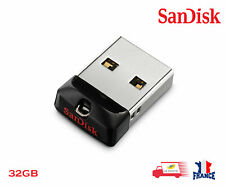Clé USB 2.0 SanDisk Cruzer Fit 32 Go Mini Nano SDCZ33-032G-G35
