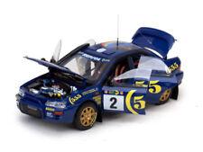 Coche de automodelismo y aeromodelismo Subaru de escala 1:18