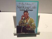 Nat King Cole, Love Songs, Music Cassette Tape.