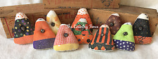 Primitive Ornies Halloween Mini Candy Corn Bowl Fillers Make Do's Fall Tucks