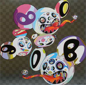"""Takashi Murakami - """"The Worlds and the World"""", Ed.300, Offset lithograph, Signed"""