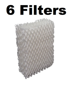 Compatible Duracraft AC-813 Humidifier Wick Filter Replacement (6 Pack)