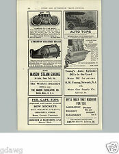 1905 PAPER AD The Wagner Motor Cycle Motorcycle 1906 St. Paul Minn