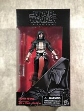 Star Wars The Black Series 34 Darth Revan 6? Action Figure 2016 FRESH FROM CASE