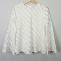 CAMILLA AND MARC | Womens White Statice Top RRP$440 [ Size AU 8 or US 4 ]