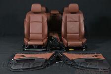BMW 5er F11 Sportsitze Lederausstattung Leder Innenausstattung sport seats brown