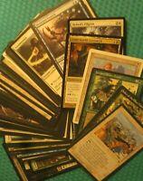 50 Cleric Cards Magic Lot, NM-HP, Tribal EDH Commander Creature Type Unique