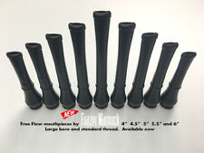More details for oval bagpipe mouthpiece with large bore. special offer!!