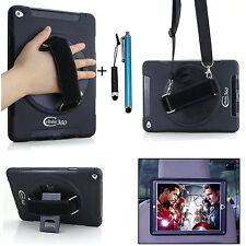 Apple iPad Mini 1/2/3 Case Handheld Kickstand Shoulder Strap Anti-Slip Holder