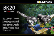 Klarus BK20 1200 Lumens Rechargeable LED Bike Light